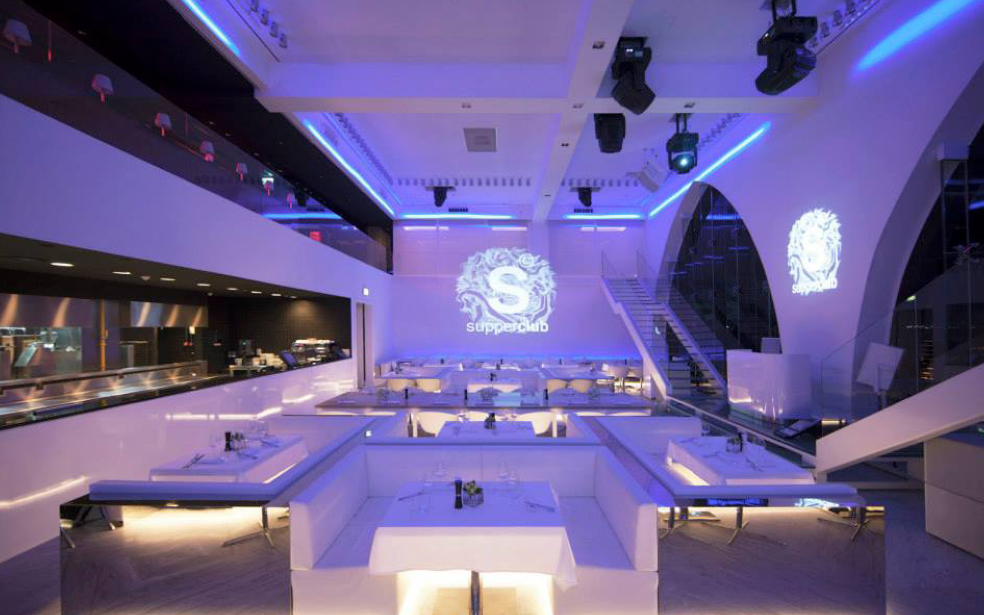 Bluehaus group supper club the palm jumeirah for Design consultancy amsterdam