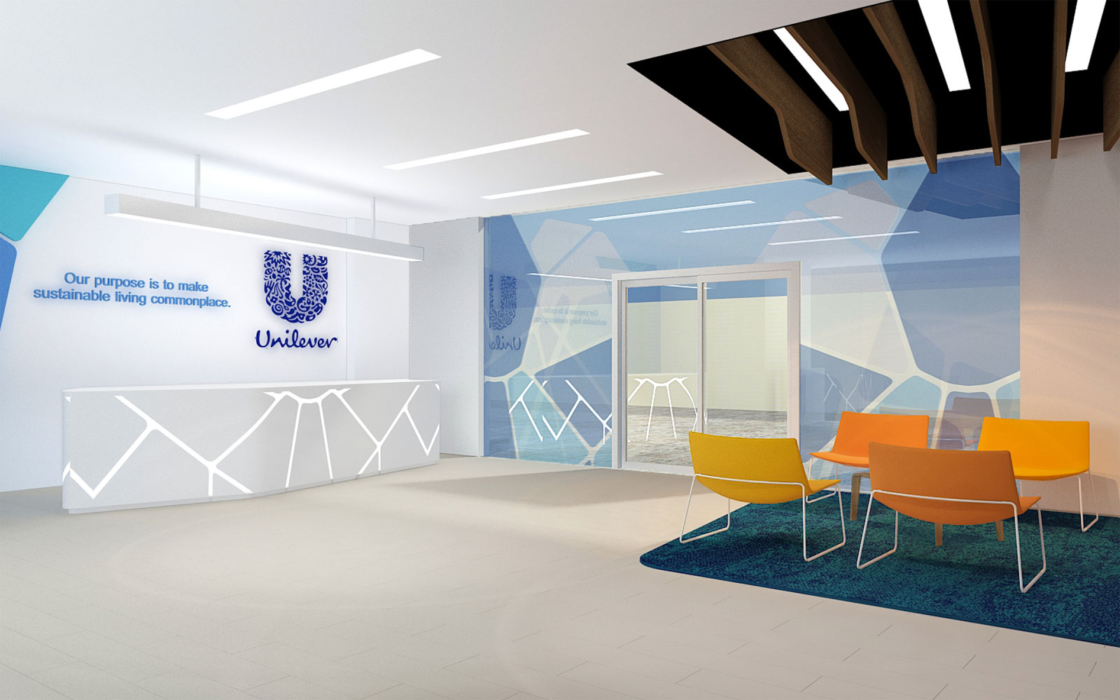 unilever office. simple office projects facts u0026 figures client unilever intended office g