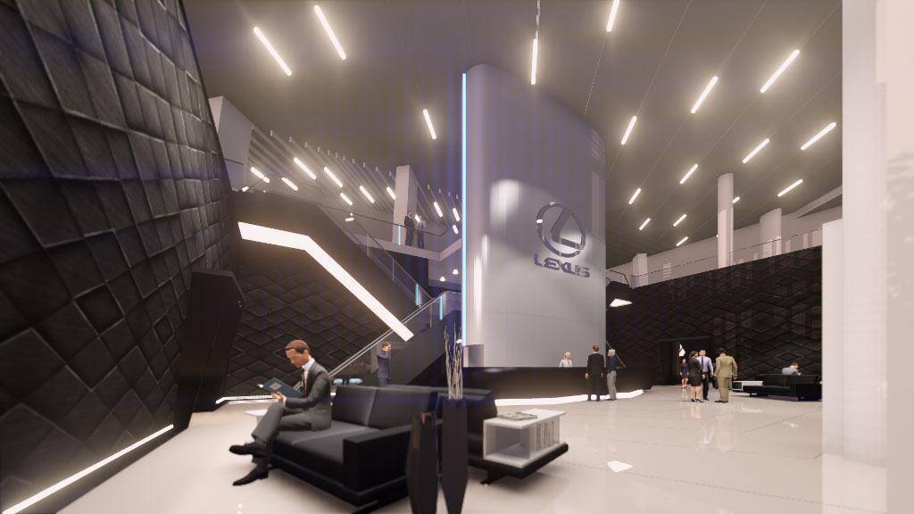 Centre City Motors >> Bluehaus Group   Lexus Showroom and Service Centre ...