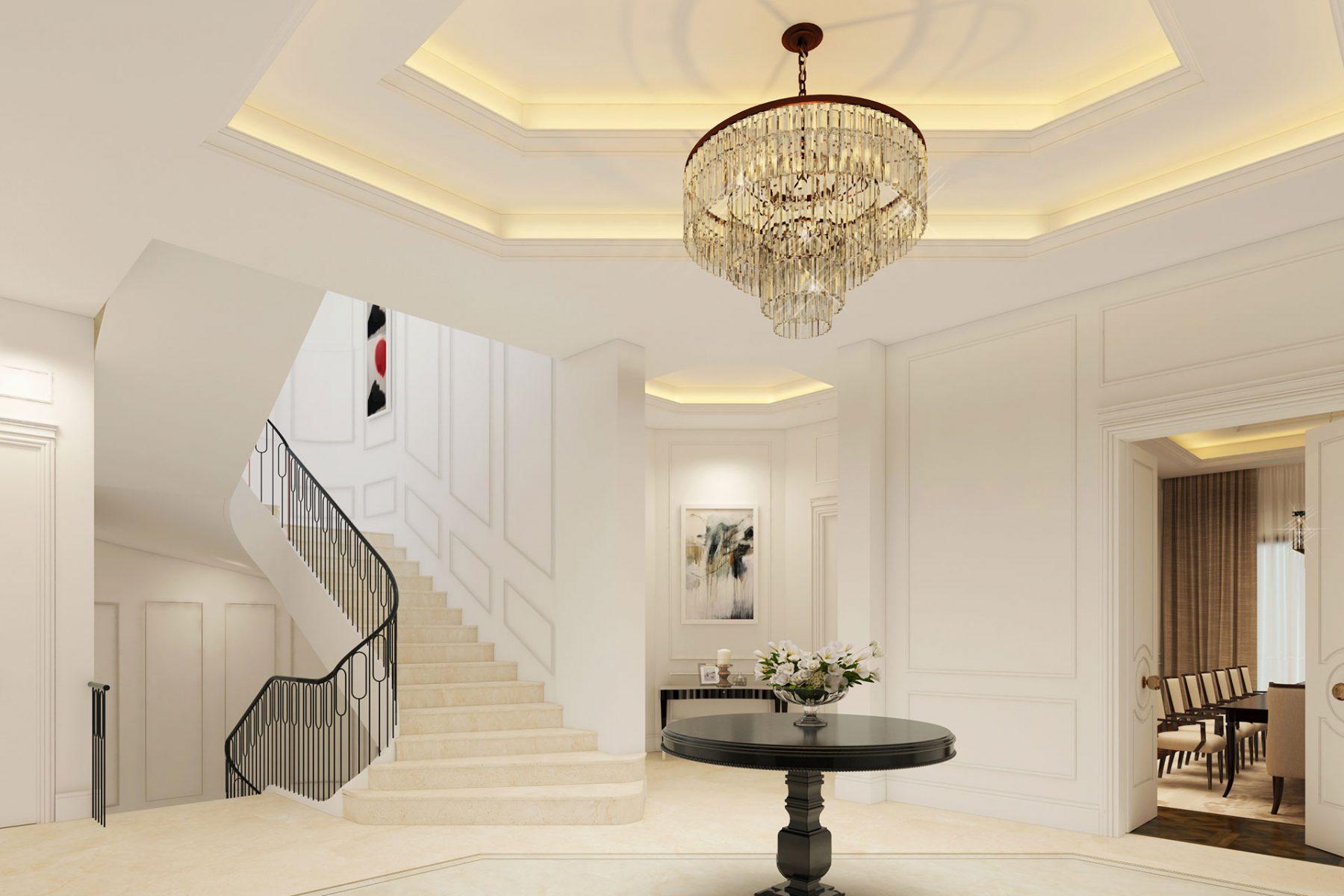 Bluehaus Group Private Villa Interiors Dubai Hills